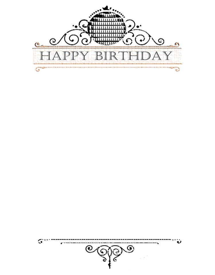 Happy Birthday message for inside card. Kathryn Hanson, ShutteredEye.
