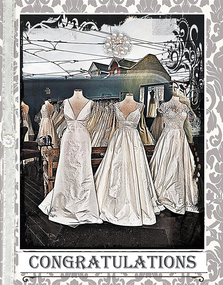 The Wedding Dream greeting card by Kathryn Hanson, ShutteredEye