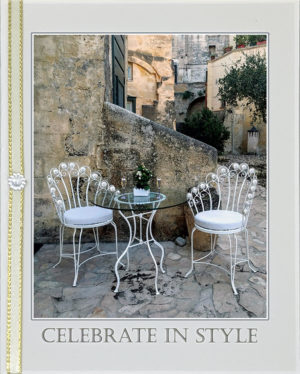 Celebrate in Style greeting card. Photography by Kathryn Hanson, ShutteredEye.
