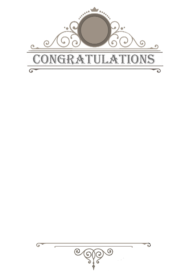 Congratulations message for inside card. Kathryn Hanson, ShutteredEye.