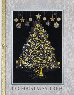 O Christmas Tree greeting card. Design by Kathryn Hanson, ShutteredEye.